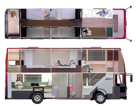 Дом из автобуса своими руками